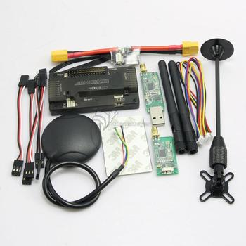 APM2.8 ArduPilot APM Flight Controller + Ublox M8N GPS + 3DR Telemetry + XT60 Power Module for FPV Multicopter
