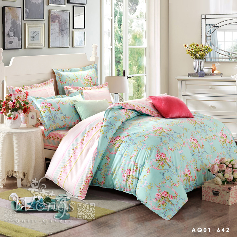 Fantastic Style New Contracted Cotton Bedding Sets