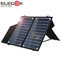 ELEGEEK Portable 10W Solar Panel Charger with Stand SUNPOWER Solar Panel 5V Battery Charger for 5V