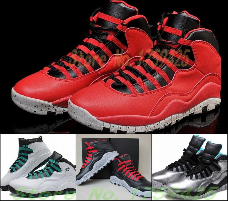 Hot Sale Cheap Bulls Over Broadways 10s Basketball Shoes For Womens Mens Lady Liberty Red Black Gray Athletic Shoes(China (Mainland))