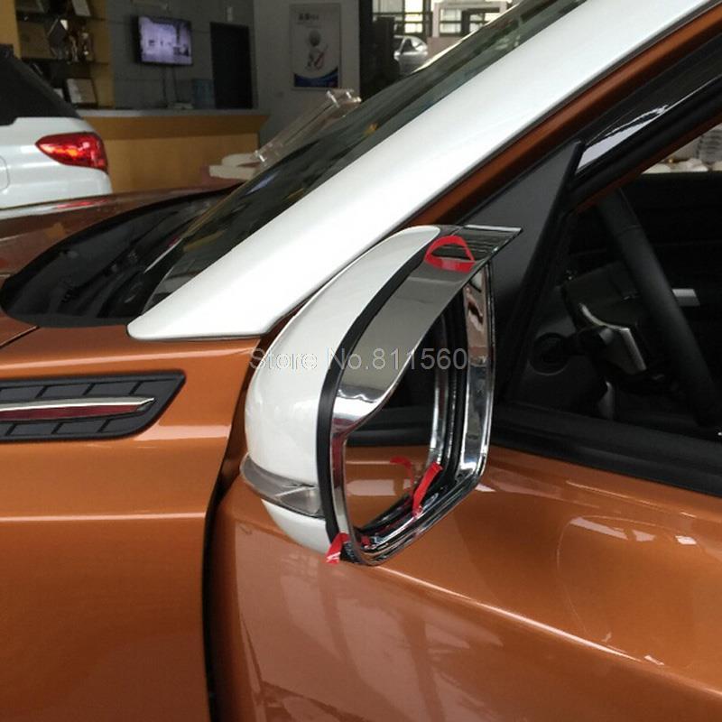 For Suzuki Vitara Escudo 2015-2017 Abs Chrome Side View Mirror Cover Strip Gear Trim Rain Eyebrow Car Accessories Styling<br><br>Aliexpress