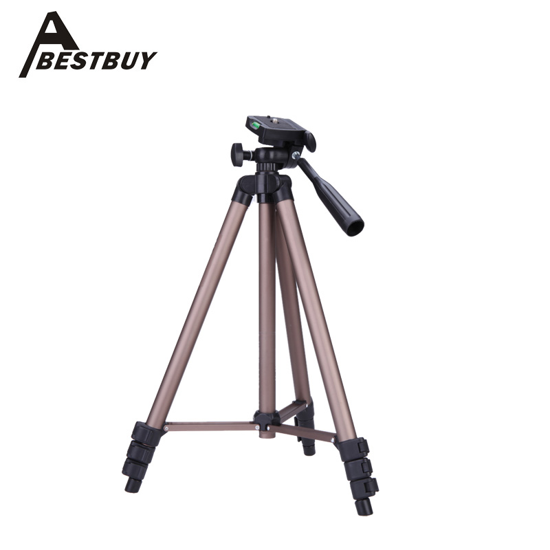 WT3130 Protable Lightweight Aluminum Mini Camera Tripod with Rocker Arm Carry Bag for Canon Nikon Sony DSLR Camera Camcorder(China (Mainland))