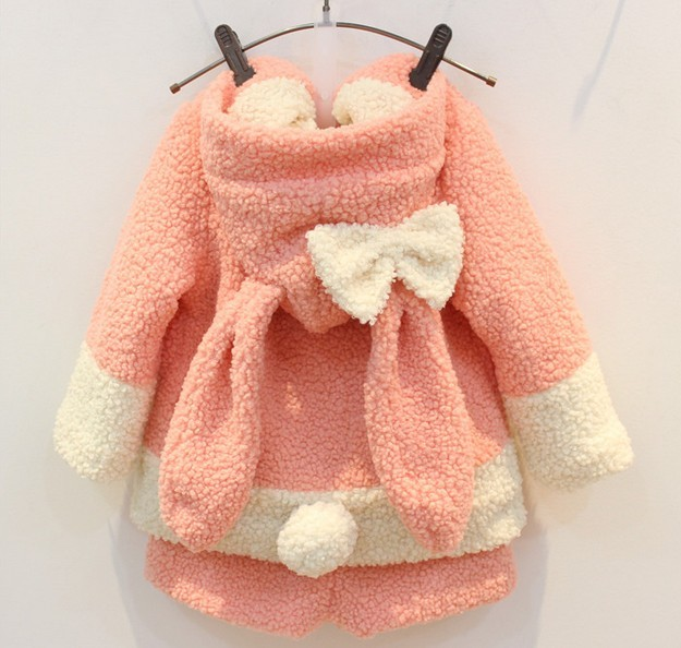 Здесь можно купить  Hu Sunshine wholesale new 2015 autumn winter kids rabbit gray clothing set children clothes sets  Детские товары