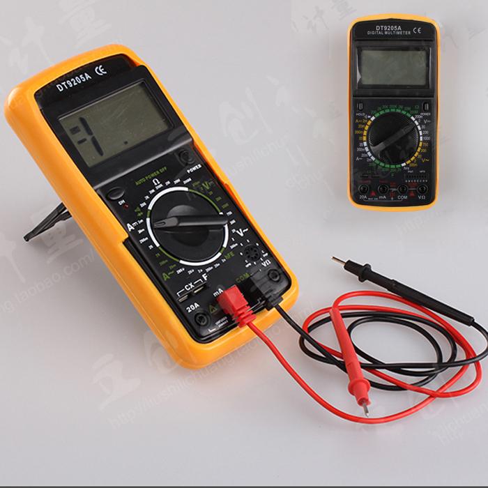 Digital Multimeter AC/DC Professional Electric Handheld Tester universal Meter(China (Mainland))