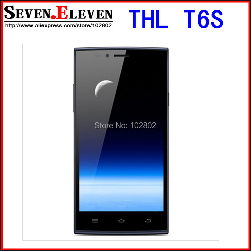 Original THL T6 Pro T6S MTK6592 Octa Core 5 Inch  IPS Android 4.4 3G Mobile cell phone 8MP CAM 1GB RAM 8GB ROM In Stock(China (Mainland))
