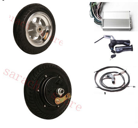 8inch 250W 24V brushless non-gear hub motor , electric scooter motor , electric wheel-motor kit ,electric scooter kit(China (Mainland))