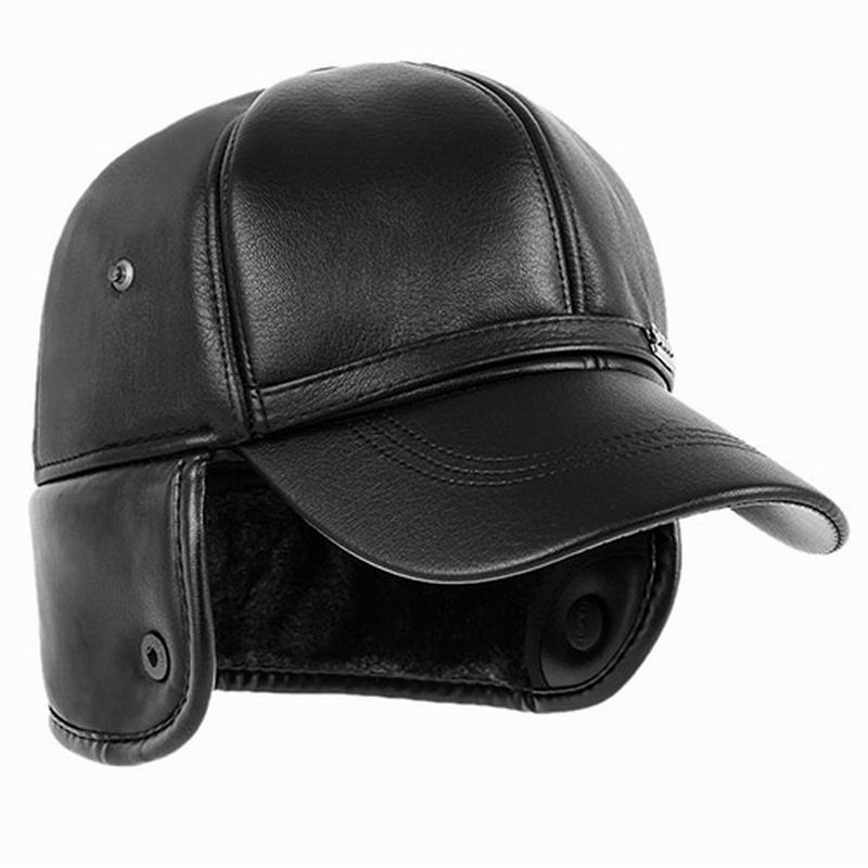 The elderly hat male winter ear protector cap old man hat winter baseball cap cotton cap thickening quinquagenarian warm hat(China (Mainland))