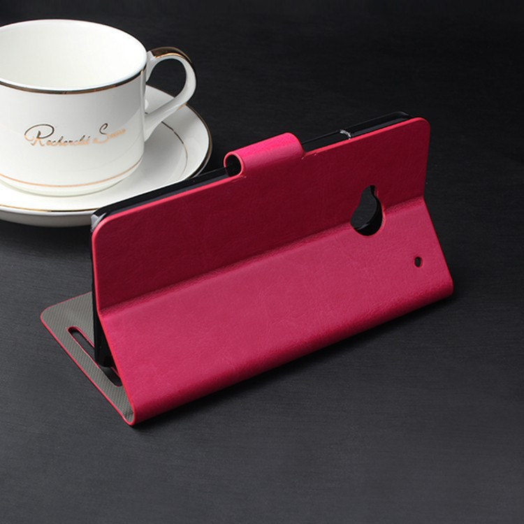 HTC ONE M7 phone case cover Stand PU Leather Case Card Slot Phone Case, 1 piece - HK GX-Tech Co.,Ltd store