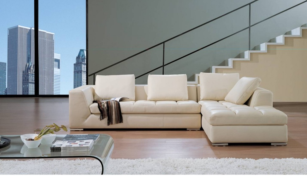 Здесь можно купить  modern furniture leather sofa sectional home furniture iving room sofa set for any color living room shipping to your port  Мебель