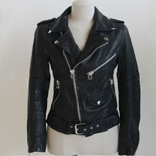 Motorcycle Brand Pu Faux Leather Jacket Women Jackets Fo Ladies Jaqueta De Couro Feminina New Clothing Coat Suede 2043 - love beauty Love fashion store
