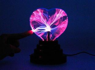 Heart usb plasma ball static ball lightning ball crystal water moneyball gift
