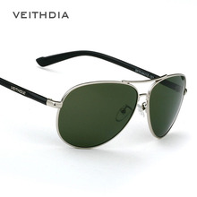 2015 New Brand Men's Polarized Sunglasses Sun Glasses Green Lense Metal Frame Driving oculos de sol masculino 2670