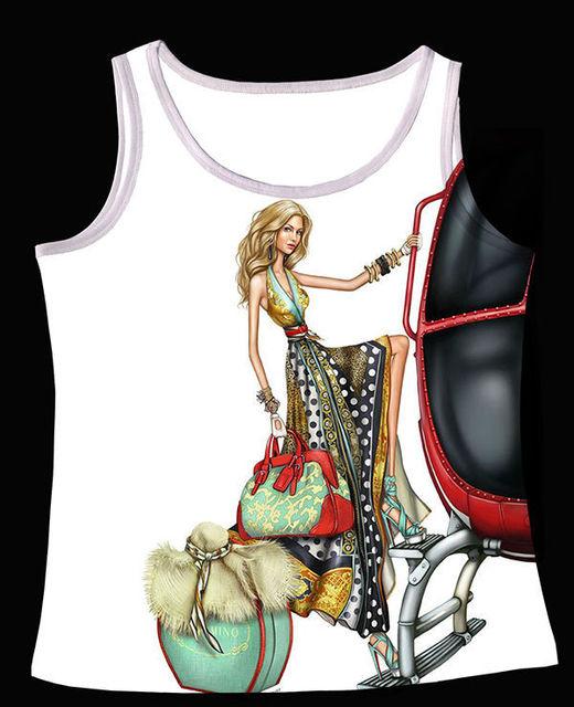 Track SТаз+Vintage Retro Cool Жилет Tanks Camis Bohemian Cloth Модный Model Girl ...