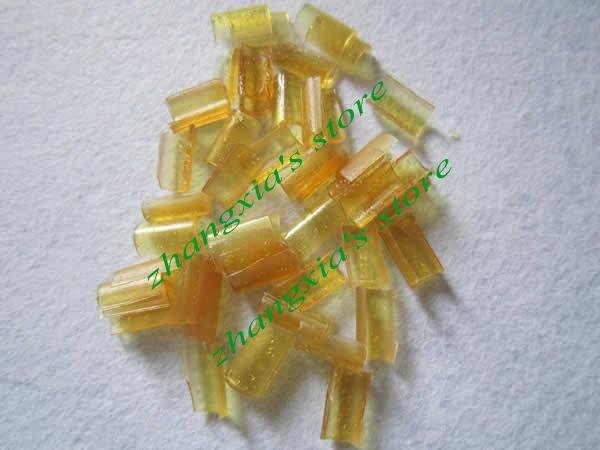 Keratin glue nail !U-Shaped Fusion Chips! yellow color,10000pcs/lot,Free shipping