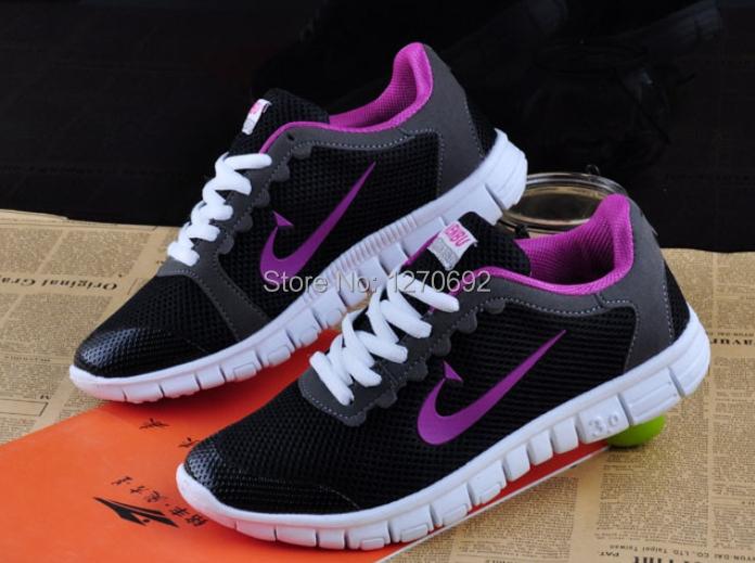 Free shipping - elegant fashion 2015 female leisure sports shoes low net surface breathable - large shoes(China (Mainland))