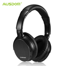 AUSDOM M06 Bluetooth headphone Wireless Headset Stereo Deep Bass Headphones Headband Handsfree Music Player for Phone Tablet