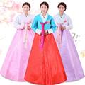 Black  Hanfu Costume Korean Tradition Women Hanbok Women National Clothes Long Sleeve Female Korean Ancient Stage Costume 16