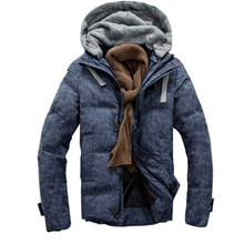 Men jacket down & parkas coat Duck Down padded Military Outwear Zipper Up Snow Parkas thick man jacket warm parka Chaquetas(China (Mainland))