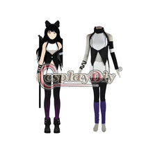 Custom Made RWBY Équipe Costume Adulte Blake Belladonna Cosplay Outfit Carnaval Halloween Party Costume D0414