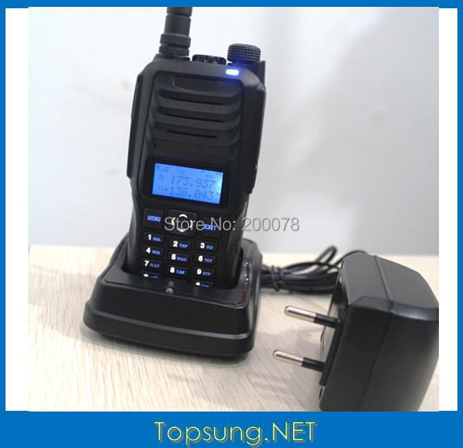 2014 10W Power dual band VHF UHF(136-174mhz/400-470MHz) two way radio transceiver transmitter w/ DTMF/ ANI /Scramble function