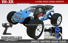 1:8 28CC One-Speed RC Nitro Gas 4WD Car - RC Cross Country Car /VH-XR(China (Mainland))