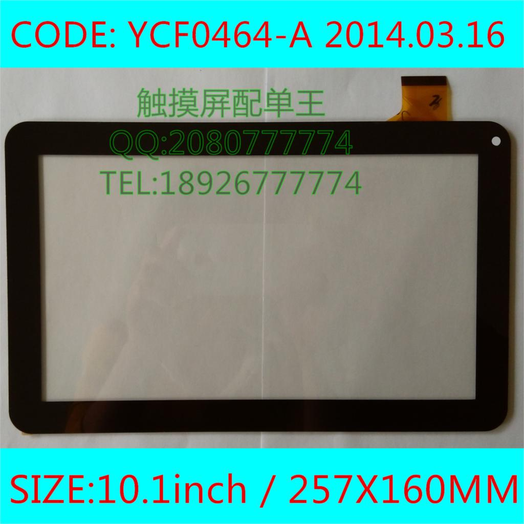 5PCS 10.1 inch capacitive touch YCF0464-A tablet single touch screen Panel outside panel outside YCF0464<br><br>Aliexpress
