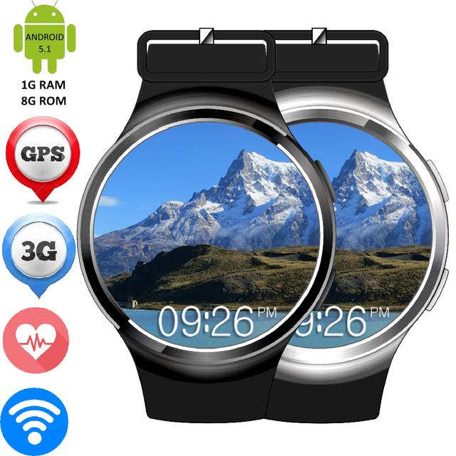 Finow X3 Плюс Android 5.1 OS Smart Watch Монитор Сердечного ритма GSM/WCDMA СИМ-Карты GPS APGS Quad-Core Smartwatch WIFI MP3 MP4 Часы