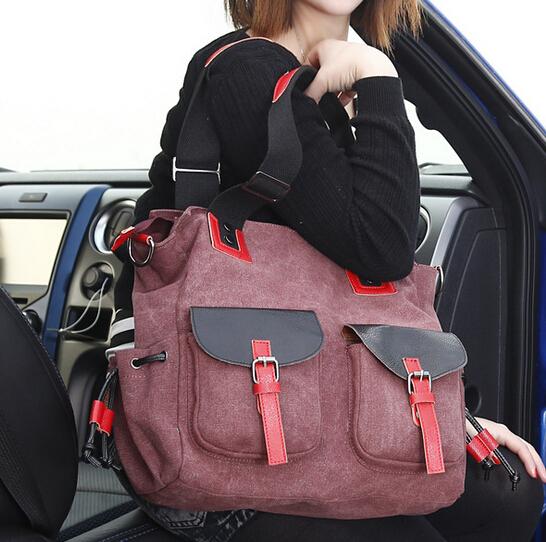stacy bag hot sale good quality women handbag lady big canvas bag female large tote elegant shoulder bags(China (Mainland))