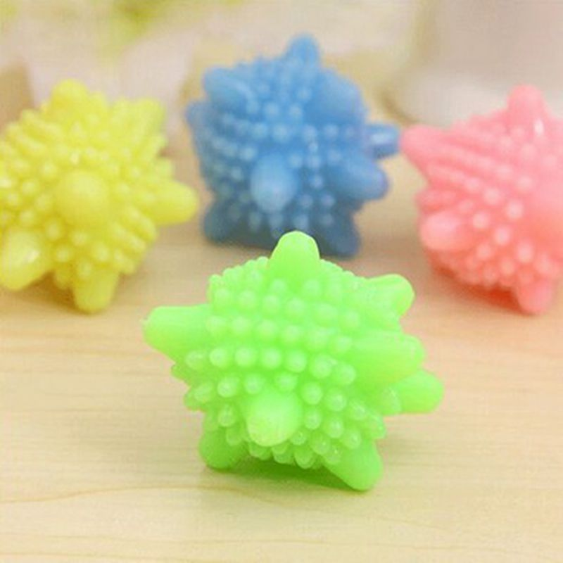 4pcs/setNew BallsTo Wash Products Bestsellers Balls For Laundry Solid Green Laundry Magic Washing Ball(China (Mainland))