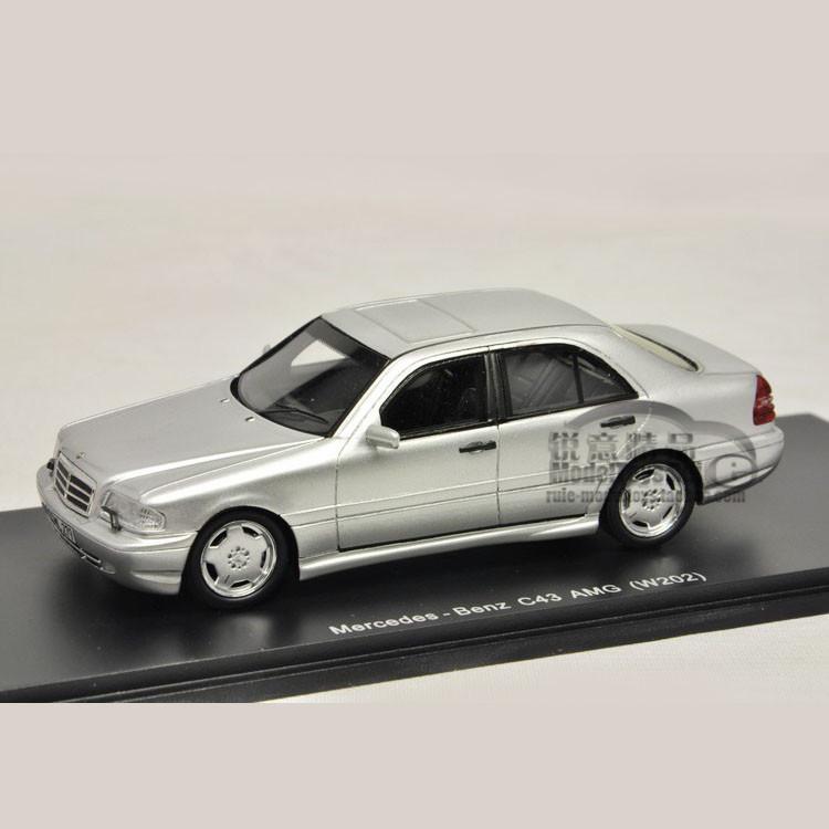 1:43 original Spark Benz C43 Mercedes Benz AMG W202 car model defects(China (Mainland))