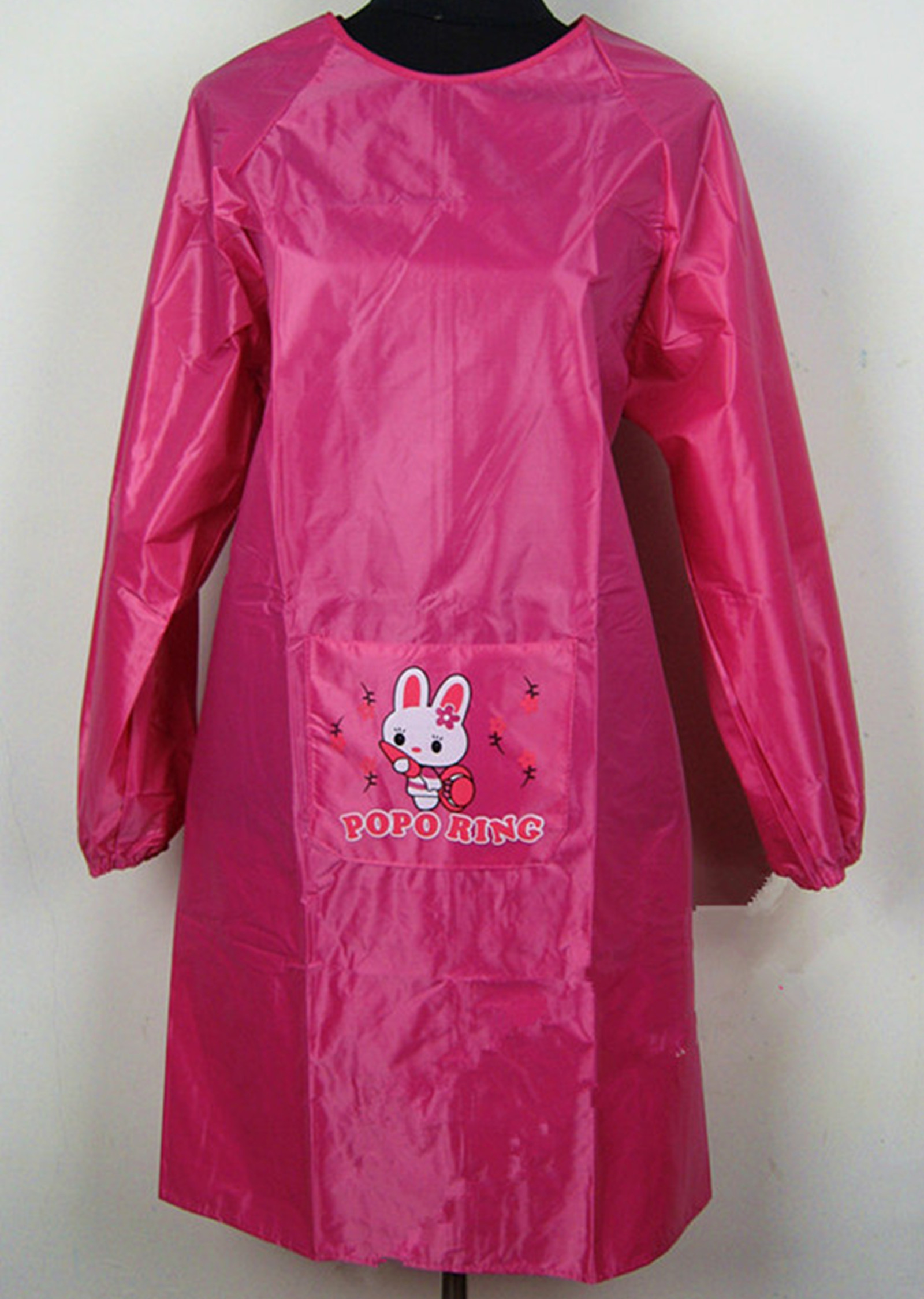 Long-sleeve adult apron waterproof gowns, pvc waterproof apron oil aprons(China (Mainland))