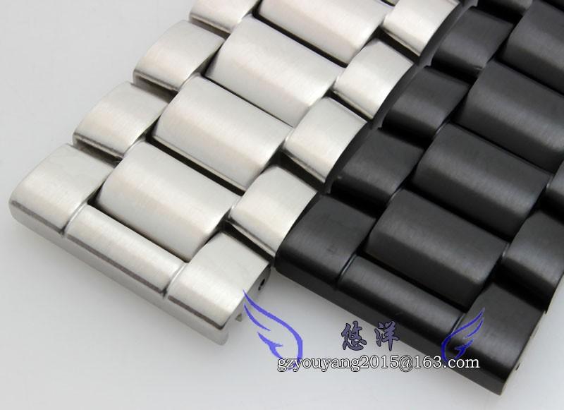 Альтернативные нержавеющей стали 3050 | 3051 | 6402 нержавеющая сталь ремешок черный 23 мм