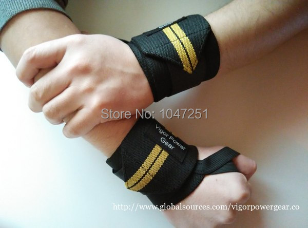 12 inch, 18 inch weight lifting wrist wraps vpg-wl0601(China (Mainland))