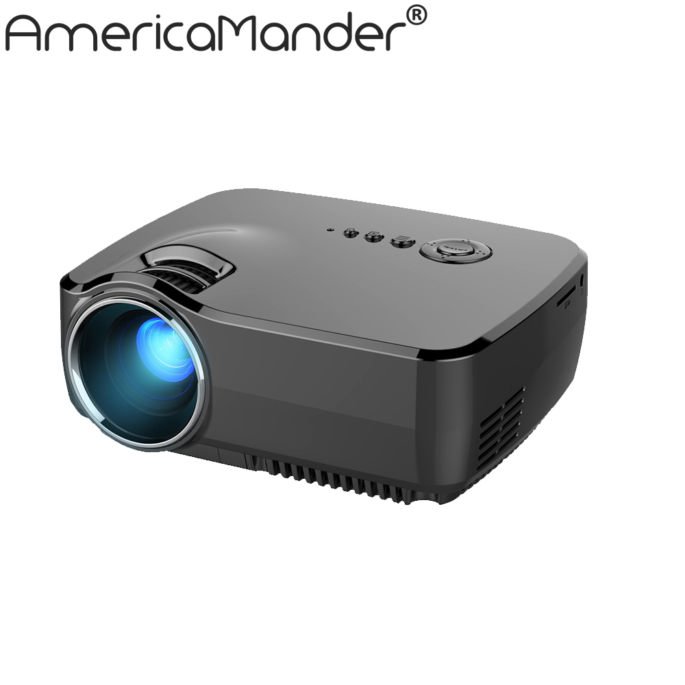 "New 1200lumens HD 150"" Multimedia LED Mini Home Theater LCD Game Projector AV/VGA/SD/USB/HDMI Free Shipping for Russia Brazil(China (Mainland))"