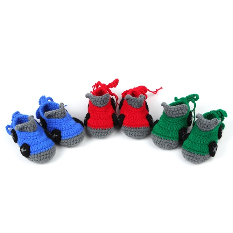 baby boys crochet shoes car design crochet pattern soft ...