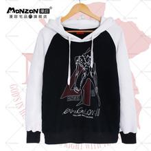 Anime Cosplay Pullover Sportswear Neon Genesis Evangelion Men's Hoodies Men Sport Jogger Sweatshirts Man Clothing