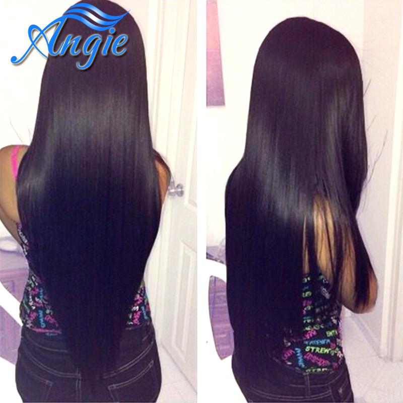 Peruvian Virgin Hair Straight 3Pcs Lot 7A Unprocessed Virgin Hair Weave Peruvian Straight Virgin Hair Pervian Virgin Hair(China (Mainland))