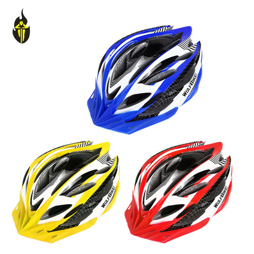 WOLFBIKE casco capacete de Ciclismo Unicase Bicycle Safety Helmet MTB Off Road Cycling Mountain Bike Head Protect Helmets(China (Mainland))