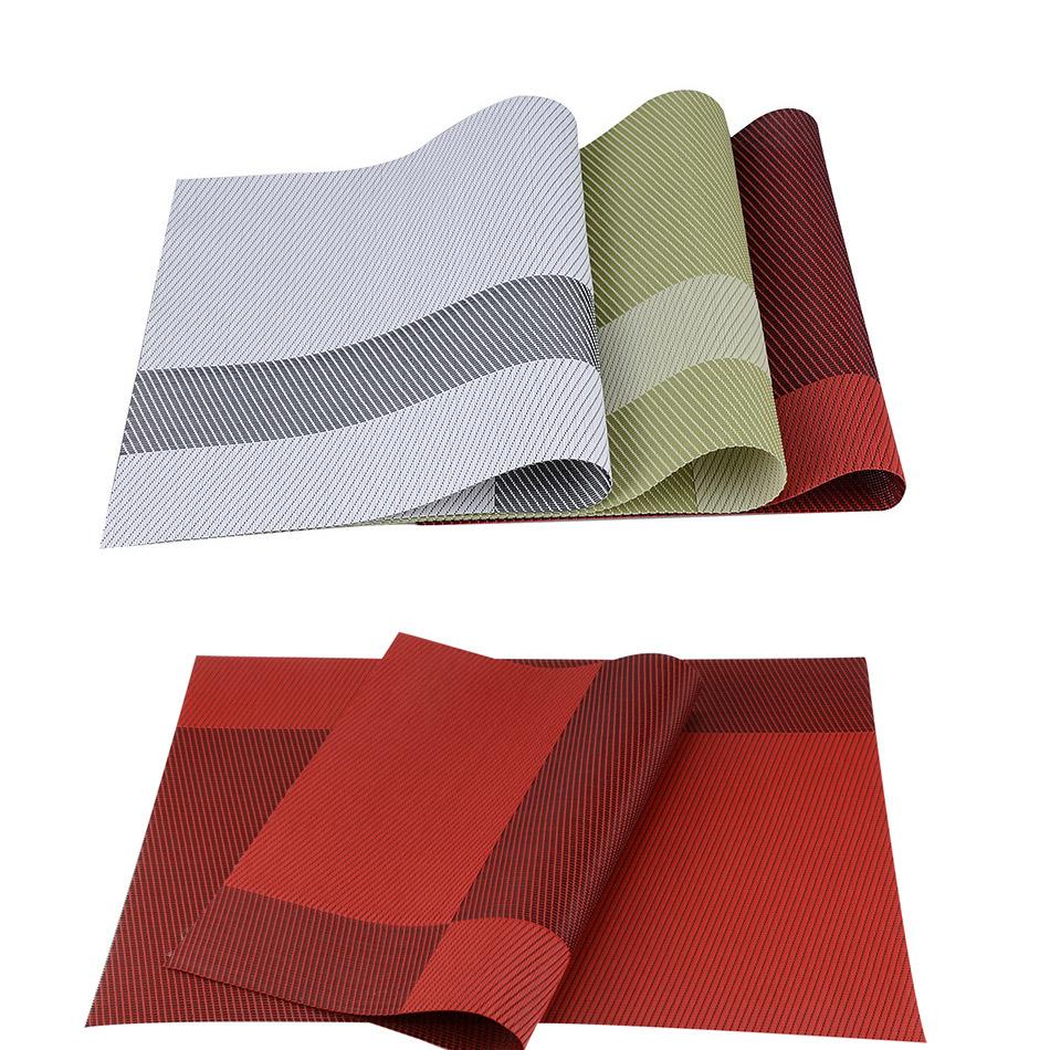 №Top Finel Set of 8 8 PVC Decorative Vinyl Placemats 【 for ...