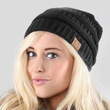 Buy 2017 New Winter Knitted Hat Skullies Beanies Women Fashion Warm Beanie Hats Men letter CC Beanies Solid Bonnets Hats Unisex for $3.49 in AliExpress store