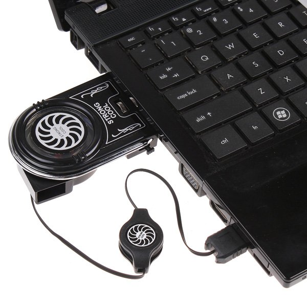 Mini Flexible Vacuum Air Extracting USB Cooler Cooling Fan for Notebook Laptop Accessories Computer Peripheral Free Drop Ship(China (Mainland))