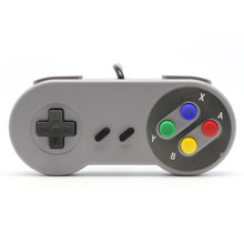 2015 Classic Retro USB Retro Color Controller Gamepad Joypad Joystick For Nintendo SF For SNES Windows PC Replacement