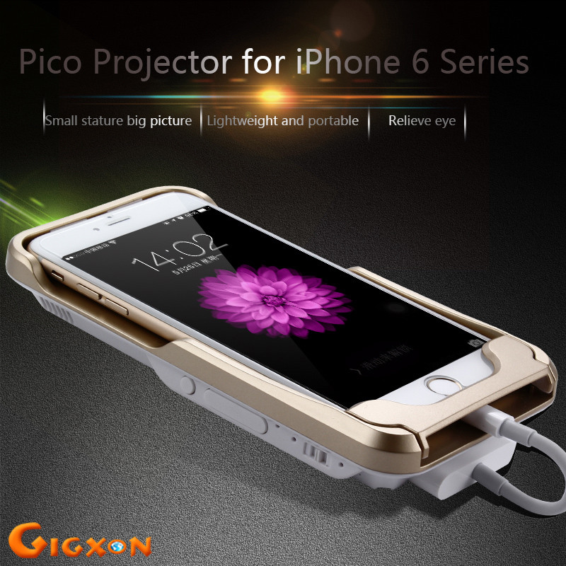 Gigxon i60 mini projector with latest projector mobile for Mini projector for iphone 6