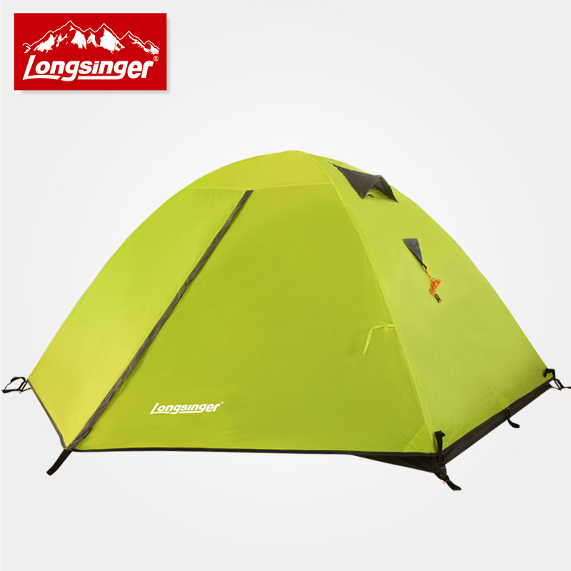 2015 on sale longsinger professional 2 person 2 layer ultra light hiking fishing beach mountaineering outdoor camping tent<br><br>Aliexpress