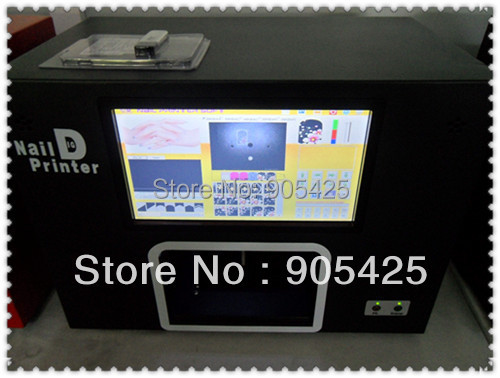 Nails salon painter machine,5 finger-nails one time ,New Software In 2014,Free Shipping by DHL(China (Mainland))
