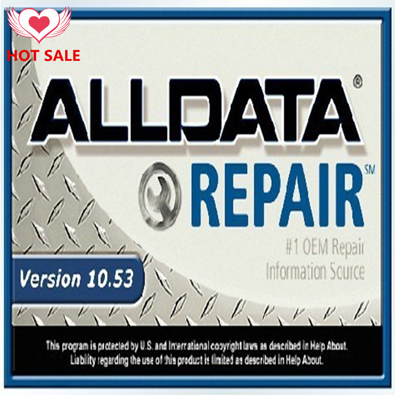 Free shipping! 2016 new auto software all data car software ALLDATA 10.53 Repair software support windows xp,7,8 with 640G HDD(China (Mainland))