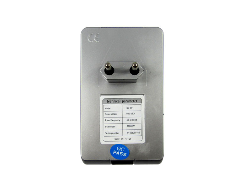 SD001 Electricity Saving Box EU Plug Electric Saver Device Power Factor Saver Electronic Energy Power Saver For Home(China (Mainland))
