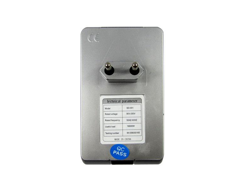 SD001 Electricity Saving Box EU Plug Electric Saver Device Power Factor Saver Electronic Energy Power Saver For Home(China (Mainland))