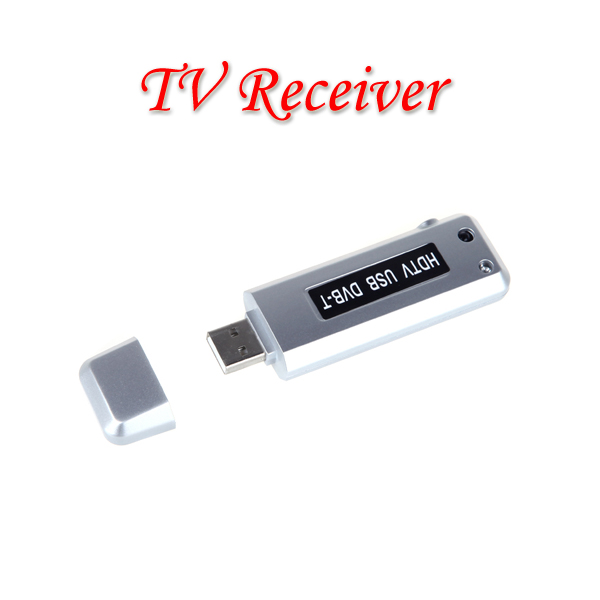 TV Antenna Digital Freeview USB 2.0 DVB-T HDTV TV Dongle Tuner Recorder Receiver Laptop PC with Remote Controller(China (Mainland))