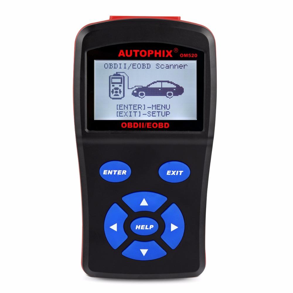 2017 Best Automotive Diagnostic Scanner OBDMATE OM520 OBD1 EOBD JOBD CAN Scan Tool for Universal Cars Fault Code Free Update(Hong Kong)